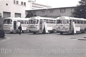 日急バス 高速バス展示